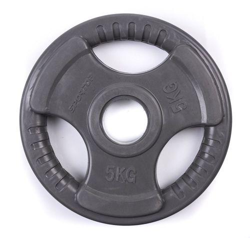 SPORTOP Obciążenie olimpijskie gumowane 5kg (55305)