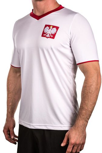 Rotex Koszulka kibica Polska biała r. M (318842)