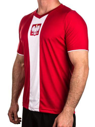 Rotex Koszulka kibica Polska Rotex czerwony roz. S (318904)