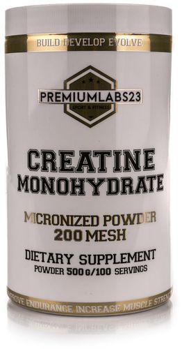 Premium Labs 23 Creatine Monohydrate 500g Premium Labs 23  roz. uniw