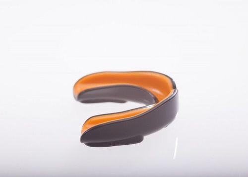 Mohave Ochraniacz szczęki pojedynczy Pro Mohave czarno-pomarańczowy roz. uniw