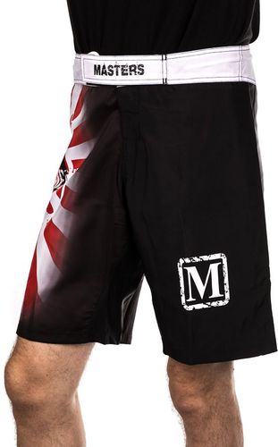 Masters Spodenki do MMA Masters SMMA-6  czarne r. L (SMMA-6)