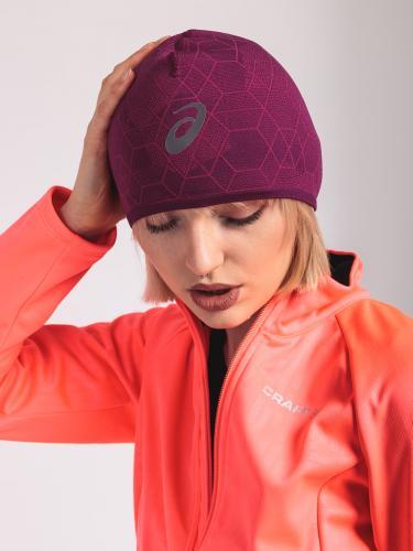 eb679df1655 Asics Czapka do biegania Beanie Graphic Pink (46819 0290)