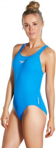 Speedo Strój kąpielowy Essential Medalist AF Endurance+ Blue r. 32 (8-007262610)
