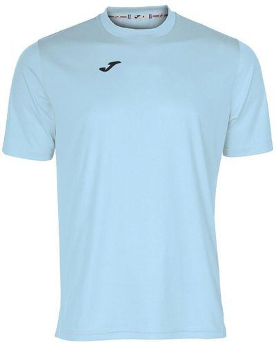 Joma sport Koszulka piłkarska Combi niebieska r. 140 cm (100052.350)