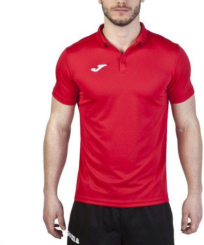 Joma sport Koszulka piłkarska JNR Shirt Hobby  czerwona r. 116 cm (100437.600)