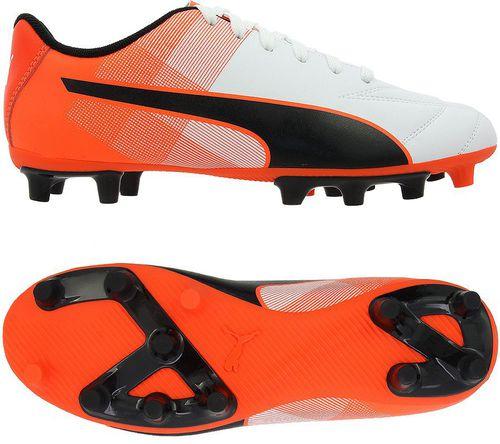 Puma Buty piłkarskie Adreno II FG Jr Biało-czerwone 38.5 (103473 07)