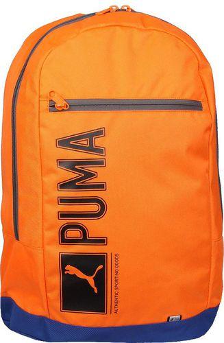 Puma Plecak sportowy Pioneer Back2School Backpack 25L pomarańczowy (073391 05)