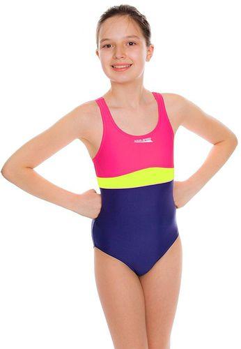Aqua-Speed Kostium kąpielowy Emily fioletowy r. 134 cm