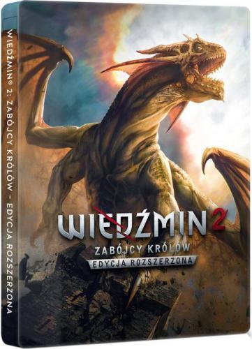 Wiedźmin 2: Edycja Rozszerzona - Edycja 10-lecia w steelbooku