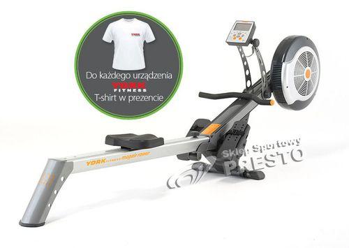 York Fitness Trenażer wioślarski R301 York Fitness + koszulka GRATIS!  uniw - 2000091027627