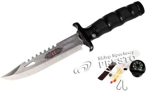 Meteor Nóż wyprawowy z niezbędnikiem Skaut Meteor  uniw - 5900724730175
