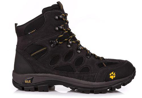 Jack Wolfskin Buty trekkingowe męskie All Terrain 7 Texapore Mid Men Jack Wolfskin czarny 41 - 4052936901018