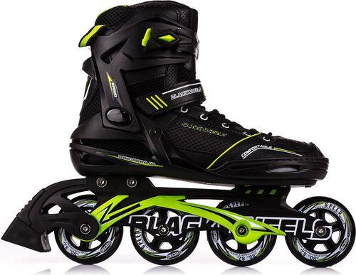 Blackwheels Rolki Slalom czarno-zielone r. 46