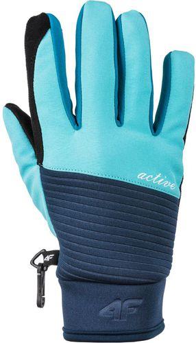 4f Rękawice zimowe damskie H4Z17-RED002 czarne r. XL