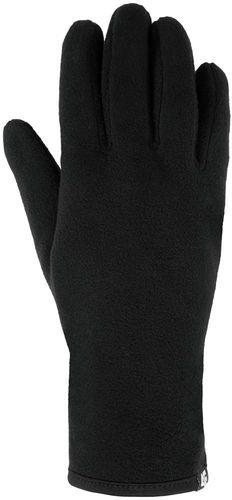 4f Rękawiczki damskie H4Z17-RED001 czarne r. L/XL