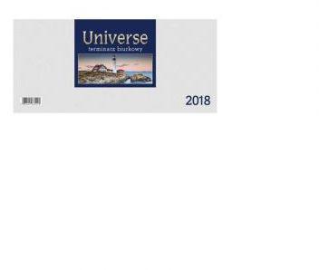 CRUX Kalendarz 2018 Biurkowy Universe, biały