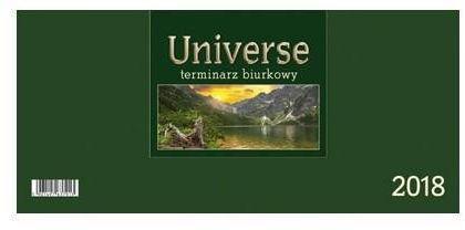 CRUX Kalendarz 2018 Biurkowy Universe, zielony