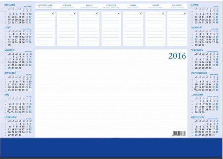 CRUX Kalendarz 2018 Biurkowy Biuwar, duży z listwą PCV