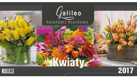 CRUX Kalendarz 2018 Biurkowy Galileo, Kwiaty