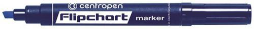 Centropen marker niebieski do flipchartów ścięta końcówka 2,5mm (585600106)