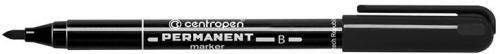 Centropen marker czarny permanentny okrągła końcówka 2,00mm (628360012)
