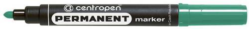 Centropen marker zielony permanentny okrągła końcówka 2,5mm (585660110)