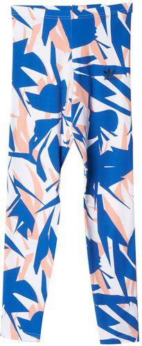 Adidas Spodnie dziecięce Originals Good Vibrations Leggings J biało-niebieskie r. 140 cm (S14451)