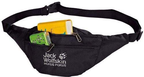 Jack Wolfskin Saszetka biodrowa Hokus Pokus Black (86472-6000)