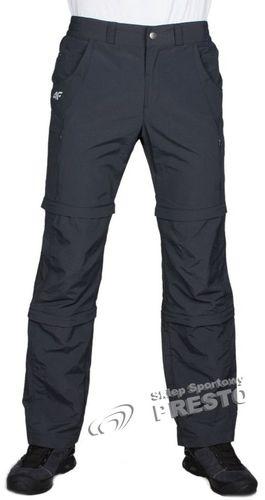 4f Spodnie męskie SPMC002 grafitowe r. XXL