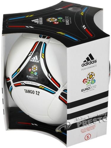 Adidas Oficjalna piłka meczowa UEFA Euro 2012 Tango 12 5 Adidas  uniw - 4051932357935