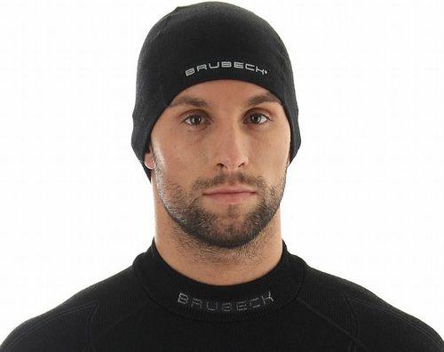 Brubeck czapka Extreme Merino czarna r. L/XL (HM10080)