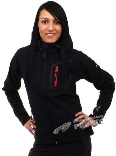Hi-tec Kurtka Lady Neomi 15.000 czarno-czerwona r. XL