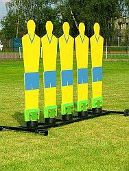 Metal-plast Figury do treningu piłki nożnej 5x  uniw - 2000091026533