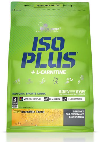 OLIMP ISO Plus Isotonic Sport Drink 1400g + 105g gratis pomarańcza Olimp Orange uniw - 5901330037726