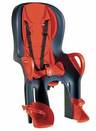OK Baby Fotelik rowerowy na bagażnik dla dziecka 10+ OK Baby granatowy uniw - 8008577227228