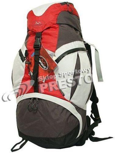 Campus Plecak trekkingowy Logos 45 Campus 5181 czerwono-szary uniw - 2000091019504