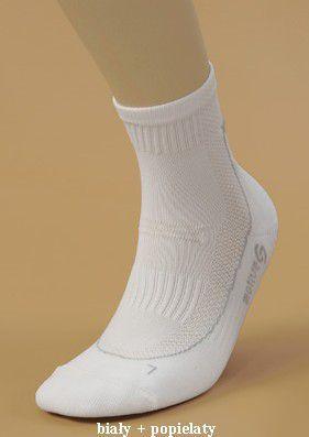 JJW Skarpety Runner Deodorant białe r. 44-46