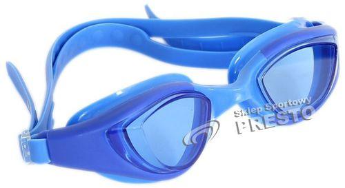 Brenda Okularki pływackie GA-2369 Brenda niebieski uniw - 2000010310159
