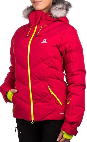 Salomon Kurtka narciarska puchowa damska Motion Fit Icetown Jacket W 10.000 Lotus Pink r. S