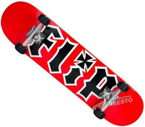 Deskorolka Flip Team HKD czerwono-czarna r. uniwersalny
