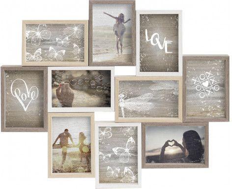 Ramka Nielsen Design Collage na 10 zdjęć 10x15, drewniana (8999345)