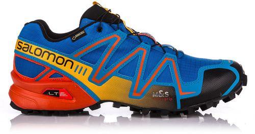Salomon Buty męskie biegowe trailowe Speedcross 3 GTX Union Blue/Tomato Red/Yellow Gold r. 46
