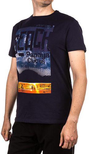 4f Koszulka męska granatowa r. L (T4L15.TSM023)