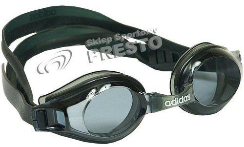 Adidas Okularki pływackie Adidas Storm 656190 czarny uniw - 2000631000002