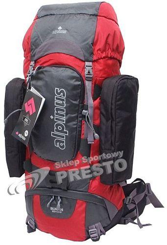 Alpinus Plecak turystyczny Alpinus Buran 60 czerwono-stalowo-czarny uniw - 5900787371247