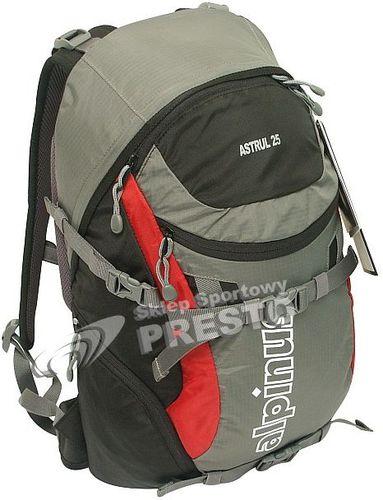 Alpinus Plecak trekkingowy Astrul 25 Alpinus szaro-czerwony uniw - 2000091026919
