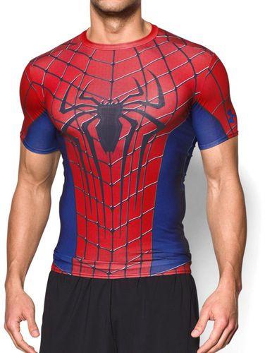 Under Armour Koszulka męska Alter Ego Transform Yourself Under Armour Spider-Man Red/Blue XXL - 2000091021759