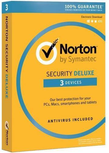 Symantec Norton Security Deluxe 3.0 PL 3 Urządzenia 1 Rok (21378603)