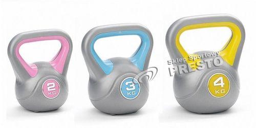 York Fitness Zestaw hantli KettleBells 2-3-4 York Fitness  uniw - 2000010321216